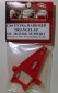 NSR1264 Xtra Hard Red Triangular motor support SW